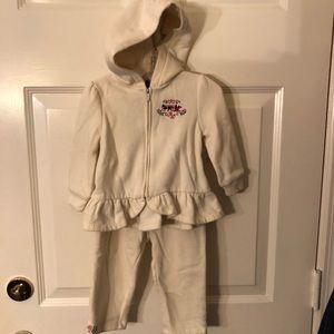 Baby Girls Sz 18M Ralph Lauren Jogging Suit